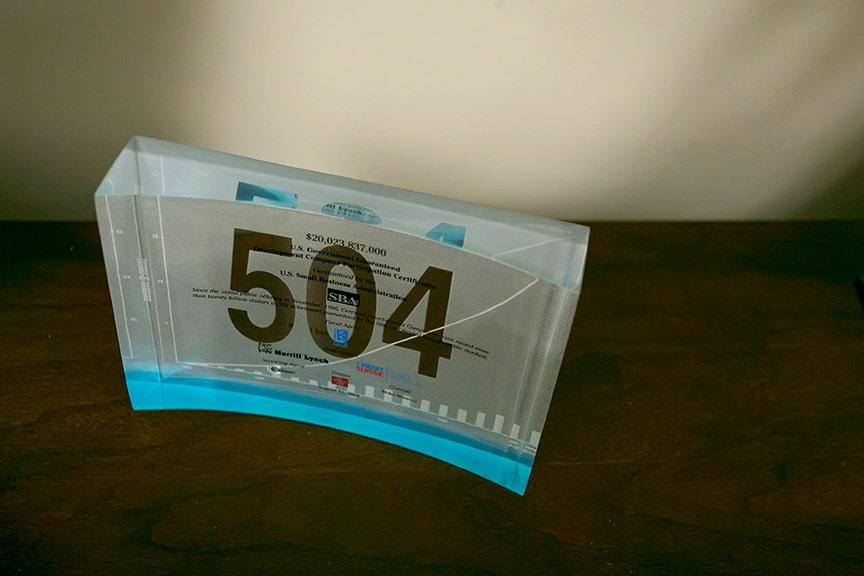 504 Capital Corporation Visiting Card